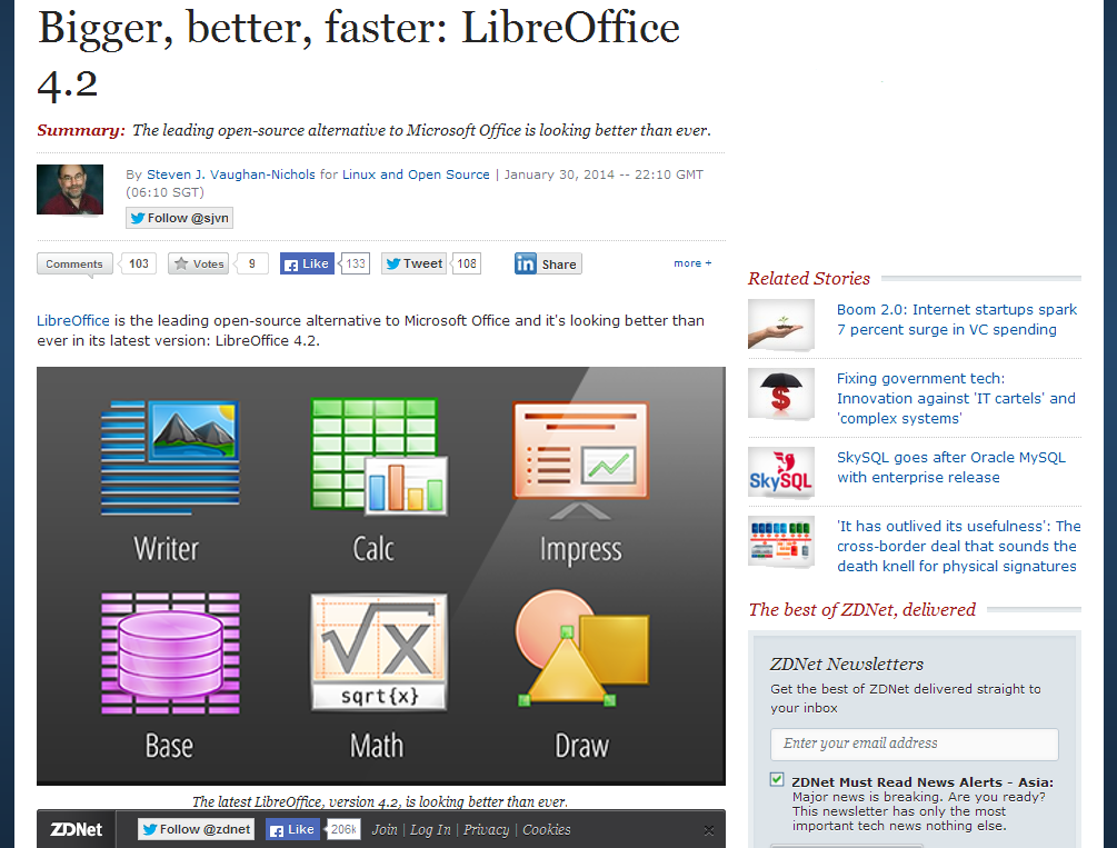 Bigger, better, faster- LibreOffice 4.2 - ZDNet_1392026329196